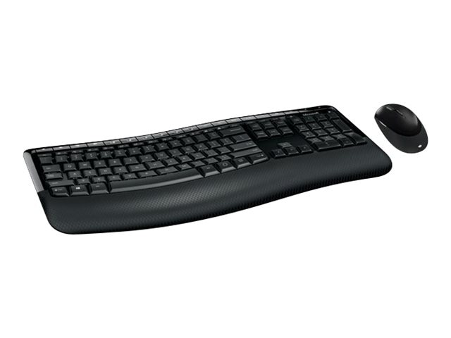 Microsoft Combo Wireless Comfort Desktop 5050 AES Keyboard & Mouse, PP4-00001, 30979686, Keyboard/Mouse Combinations