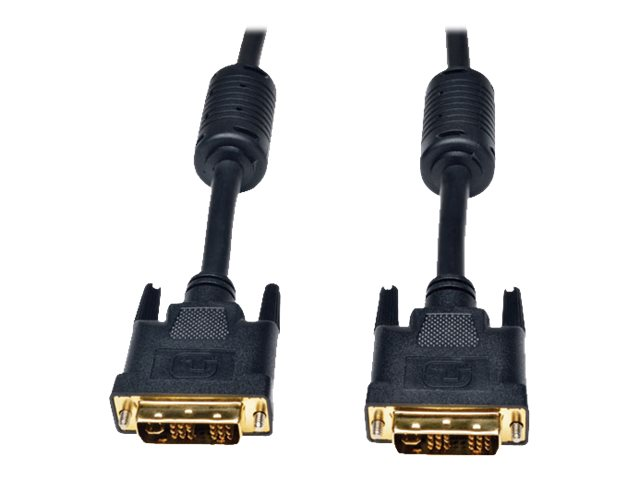 Tripp Lite DVI-I Single Link Digital Analog Monitor Cable, 6ft, P561-006-SLI, 16900417, Cables