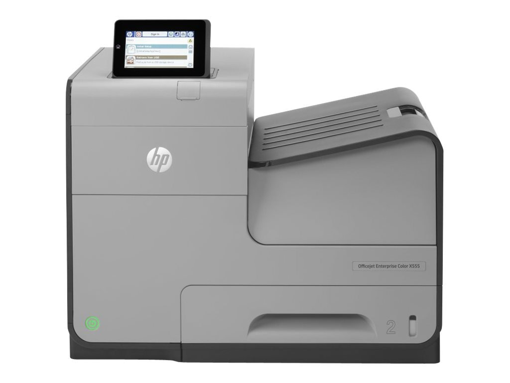 HP Officejet Enterprise X Series  X555dn Color Printer