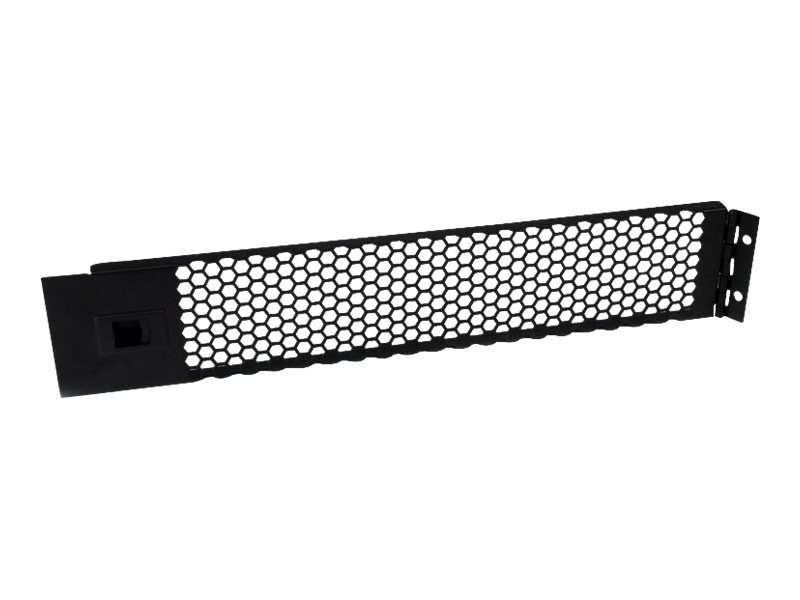 StarTech.com Hinged & Vented Blank Rack Panel, 2U Black, RKPNLHV2U, 17679697, Rack Mount Accessories