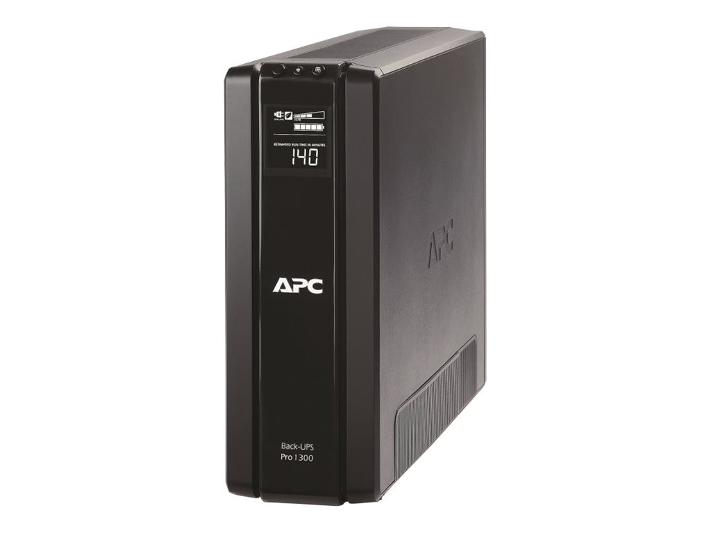 APC Power-Saving Back-UPS Pro 1300VA 780W UPS 5-15P Input 6ft Cord, BR1300G, 11682174, Battery Backup/UPS