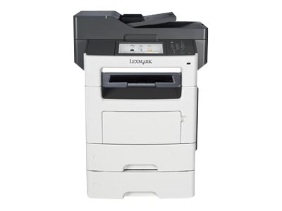 Lexmark MX611dte Monochrome Laser Multifunction Printer