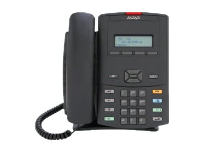 Avaya 1210 IP Deskphone, Icon Keycaps, No Power Supply, Charcoal, NTYS18AC70E6, 12386596, Telephones - Business Class