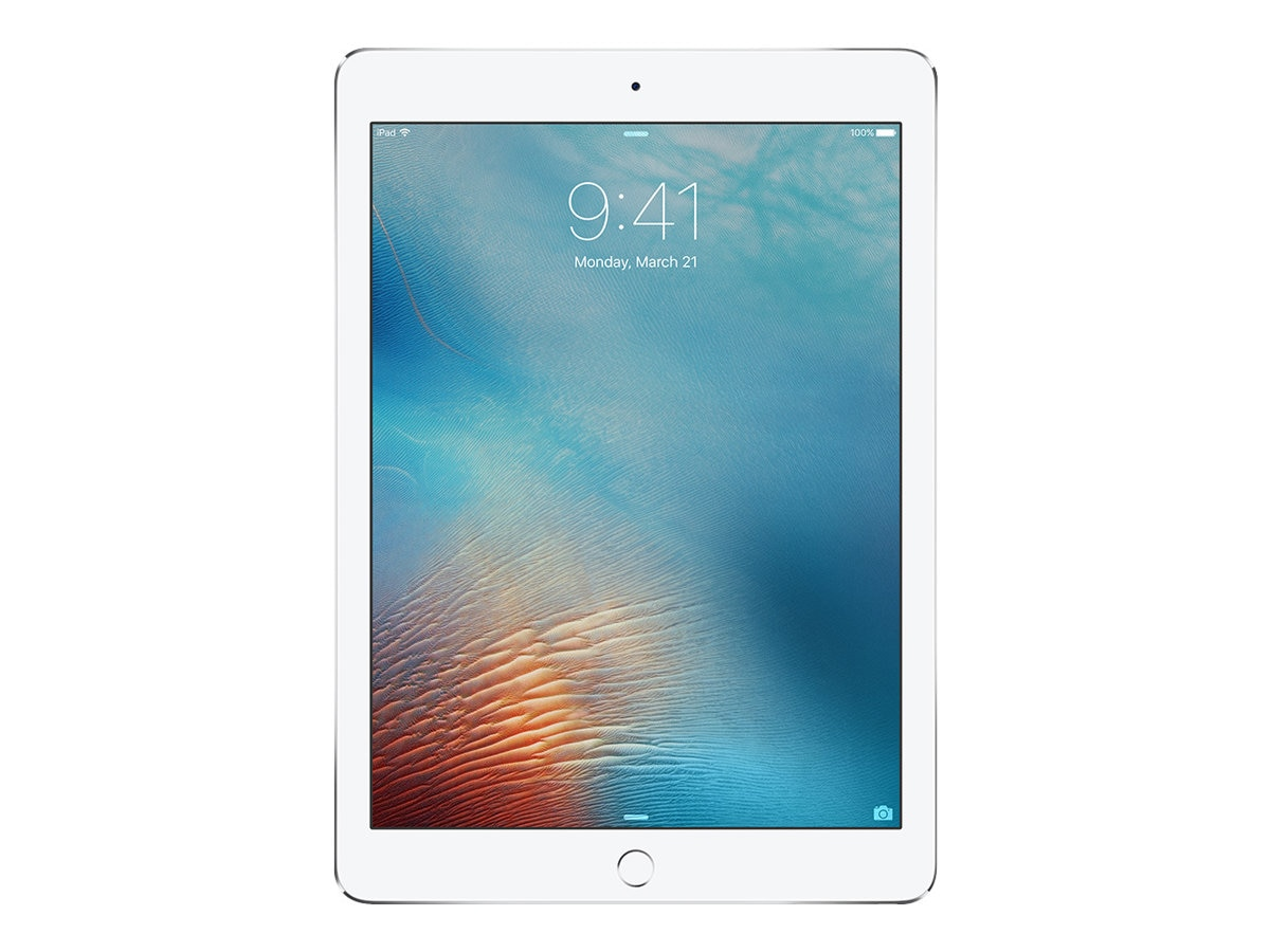 Apple iPad Pro 9.7, 256GB, Wi-Fi+Cellular, Silver (Apple SIM), MLQ72LL/A, 31803447, Tablets - iPad Pro