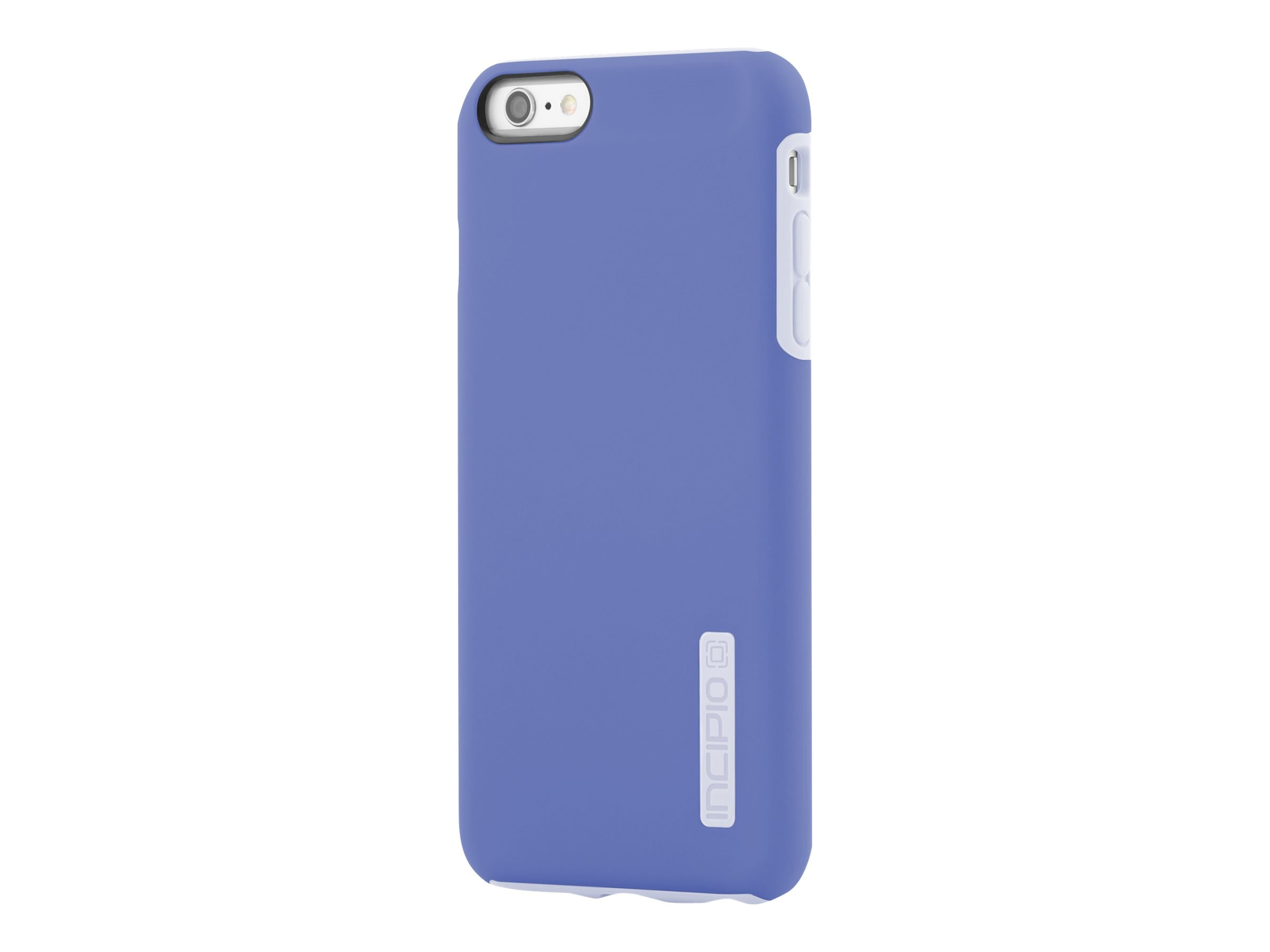 Incipio DualPro Hard Shell Case w  Impact Absorbing Core for iPhone 6 6S Plus, Periwinkle Haze Blue, IPH-1195-PERBLU