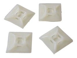 StarTech.com Self-adhesive Cable Tie Mounts, 100-pack, HC102, 4792818, Cable Accessories