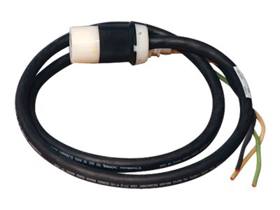 Tripp Lite Single-Phase Whip L5-20R 25ft with 3ft Outer Jacket Removed, SUWL520C-25, 11552345, Power Cords
