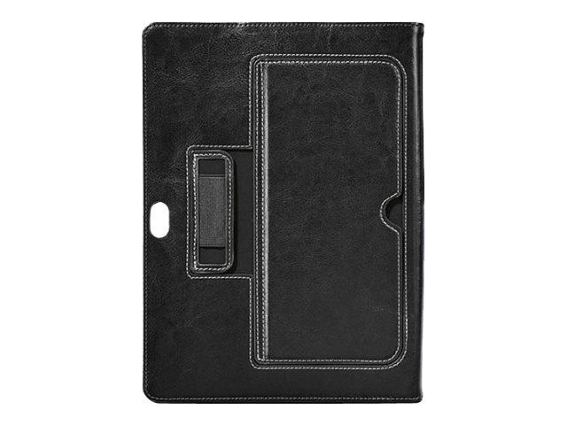 Cyber Acoustics Surface 3 Leather Case with Corner Bumper Protection, Obsidian Black, MR-MS3201