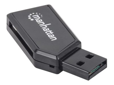 Manhattan Mini USB 2.0 Multi-Card Reader Writer