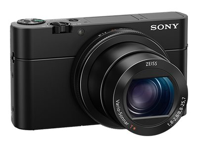 Sony Cyber-Shot DSC-RX100 IV Digital Camera, 2.9x Zoom, 20.1MP, Black, DSCRX100M4/B