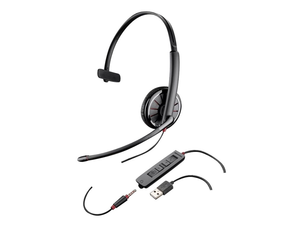 Plantronics Blackwire 300 Series C315 USB Headset, 200264-02, 16349266, Headsets (w/ microphone)