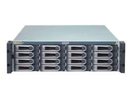 Promise 3U 16-Bay 3G SAS SAS SATA RAID Storage Array w  (8) 2TB SAS Hard Drives, E610SDBB2CC, 12001781, SAN Servers & Arrays
