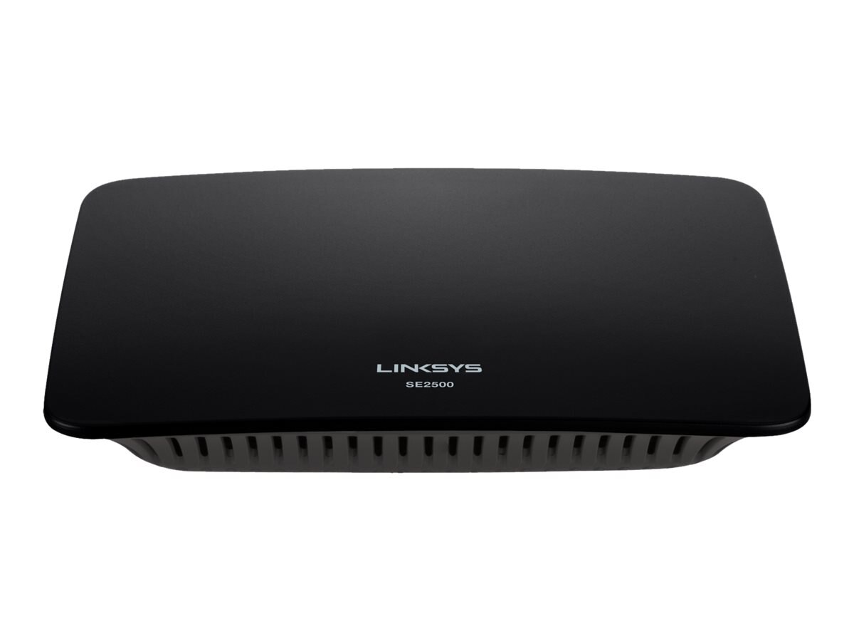 Linksys SE2500 5-Port Gigabit Ethernet Switch, SE2500-NP