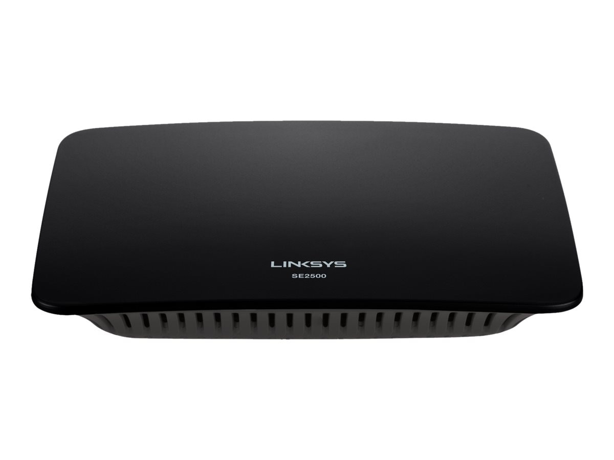 Linksys SE2500 5-Port Gigabit Ethernet Switch, SE2500-NP, 16354444, Network Switches