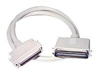 C2G External SCSI Cable, HD68 to 50-Pin Centronics M M, 6ft, 07869, 5724577, Cables