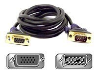 Belkin Gold Series VGA Monitor Extension Cable, 10ft (F2N025-010-GLD), F2N025-10-GLD, 132278, Cables