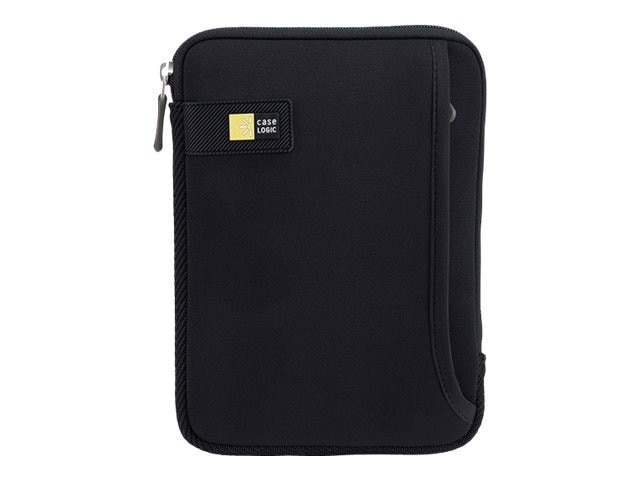 Case Logic Tablet Sleeve with Pocket for iPad mini or 7 Tablet, Black, TNEO-108BLACK, 16815669, Protective & Dust Covers
