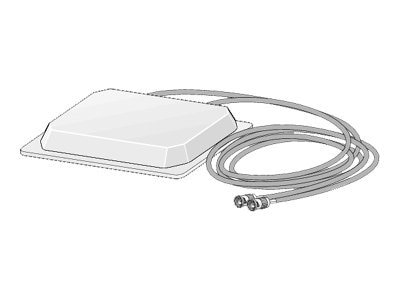 Cisco 4dBi 2.4GHz 5dBi 5GHz-Dual Band Ceiling Mount Antenna, AIR-ANTM4050V-R, 6026295, Wireless Antennas & Extenders