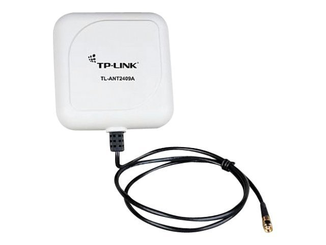 TP-LINK 2.4GHz 9dBi Directional Antenna, 802.11n b g, RP-SMA Male Connector, 3ft Cable, TL-ANT2409A