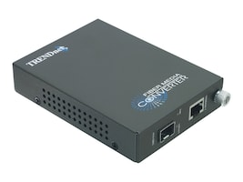 TRENDnet 1000Mbps TX to 1000Base-FX Fiber Converter, TFC-1000MGB, 8545451, Network Transceivers