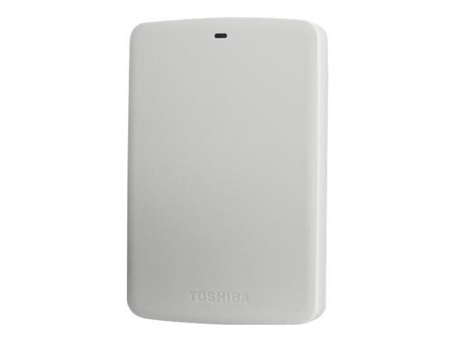 Toshiba 2TB Canvio Basic USB 3.0 External Hard Drive - White, HDTB320XW3CA, 18107105, Hard Drives - External