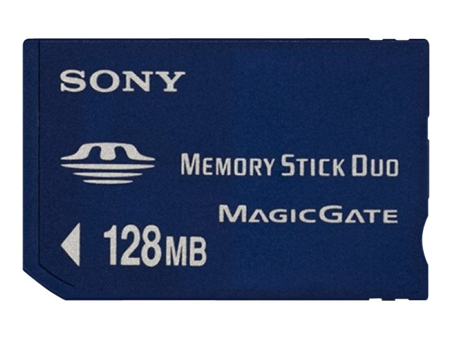 Sony 128MB Memory Stick Duo, MSHM128A, 473453, Memory - Flash