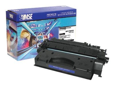 CE505X Black High Yield Toner Cartridge for HP, 02-21-0516
