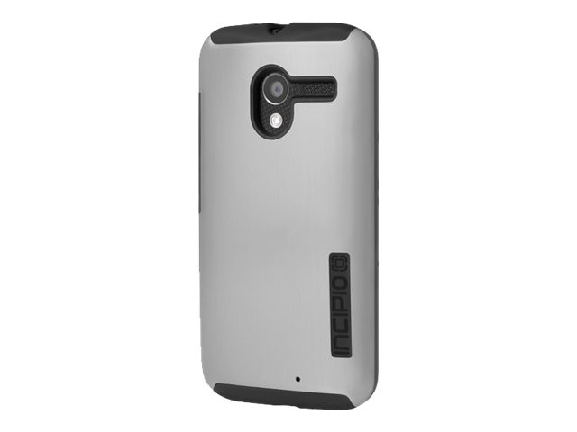 Incipio DualPro Shine for Motorola Moto X, Silver Black