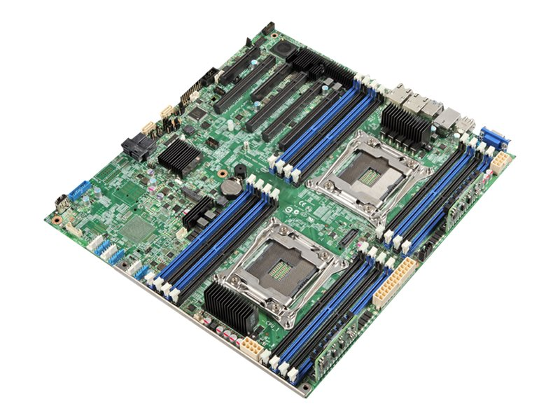 Intel Motherboard, DBS2600CWTR Server Board, DBS2600CWTR, 31086046, Motherboards