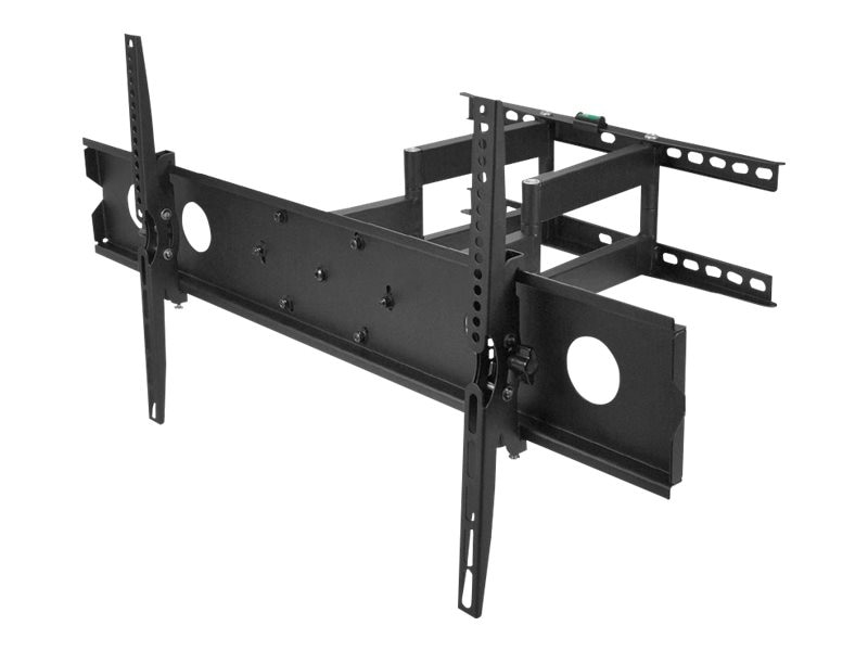 Siig Large Full-Motion TV Wall Mount for 42-80, CE-MT1F12-S1, 18115009, Stands & Mounts - AV