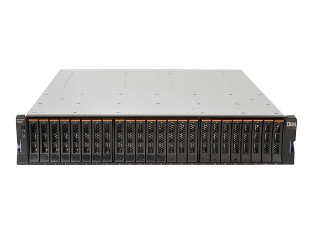 Lenovo Storwize V7000 2.5 Storage Controller Unit w MNT (3 Years), 6195SC5, 27414051, Storage Networking Modules