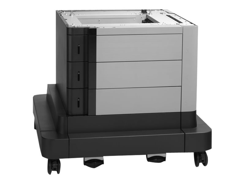 HP 2x500 1x1500-Sheet Paper Feeder & Stand for HP Color LaserJet Enterprise M680 & M651 Series, CZ263A