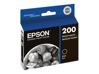 Epson Black #200 Ink Cartridge, T200120, 14896848, Ink Cartridges & Ink Refill Kits