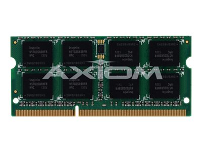 Axiom 4GB PC3-10600 204-pin DDR3 SDRAM SODIMM for Select Models, AX31333S9Y/4G
