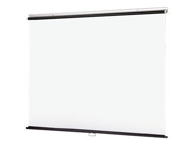 Draper V Screen  Manual Projection Screen, Matte White, 1:1, 108 x 108
