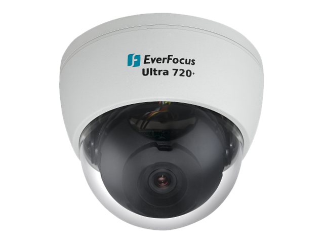 Everfocus ED700 W Ultra 720+ TVL Low Light Day Night Dome Camera with DWDR Varifocal 2.8-12mm, ED700/W