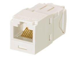 Panduit Mini-Com Module Cat6 Corrosive Resistant, TG Style,  Office White, CJE688TGIW, 33024754, Premise Wiring Equipment