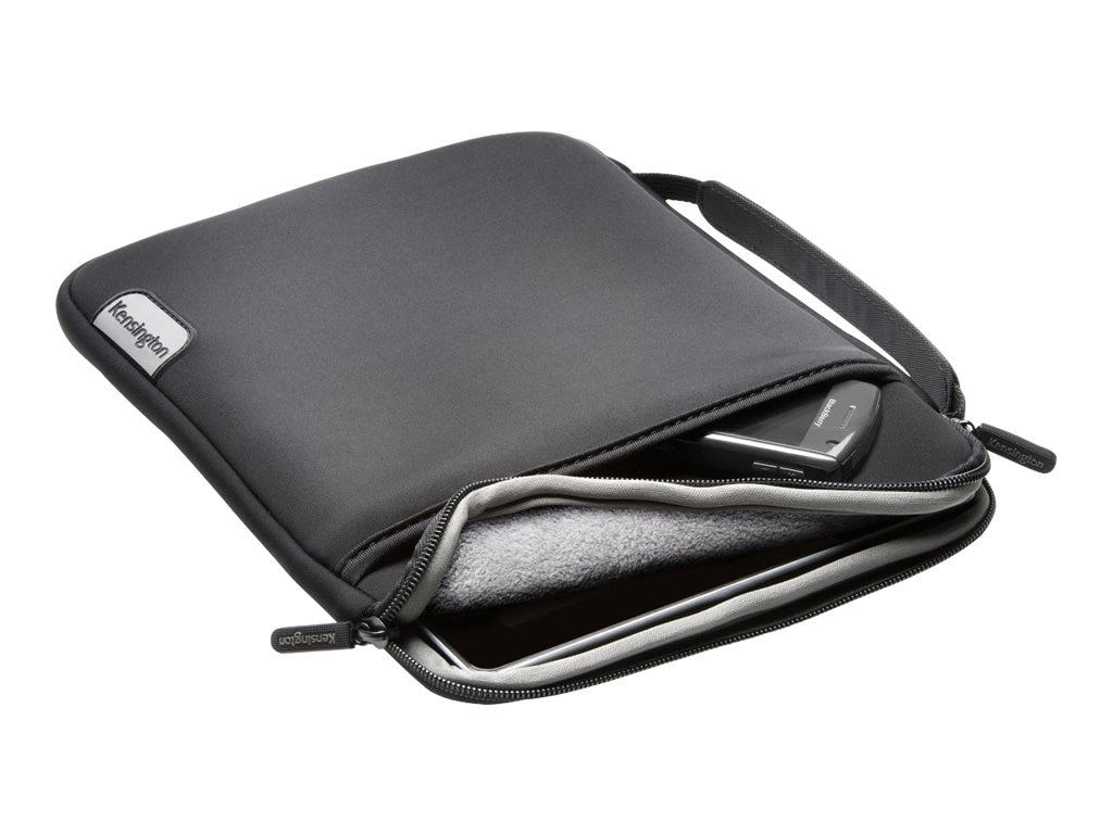 Kensington Neoprene Soft Carrying Case for 10 Tablet, K62575WW, 13468219, Carrying Cases - Tablets & eReaders