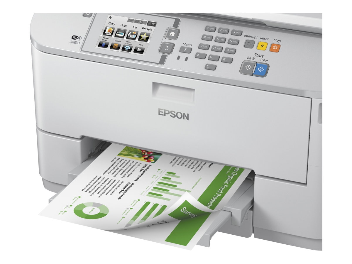 Epson WorkForce Pro WF-5620 Network Multifunction Color Printer, C11CD08201