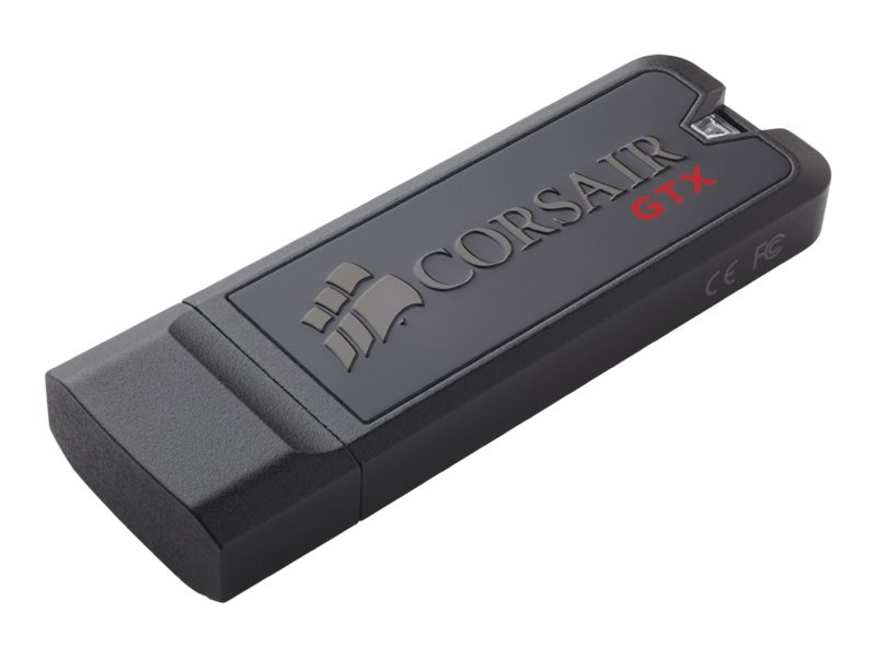 Corsair 128GB Flash Voyager GTX USB 3.0 Flash Drive, CMFVYGTX3B-128GB