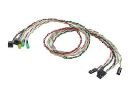 StarTech.com Replacement Power Reset LED Wire Kit for ATX Case Front Bezel, BEZELWRKIT, 13376841, Cable Accessories
