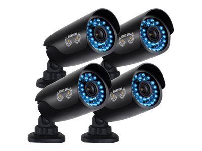 Night Owl 650 TVL Security Camera with 100-foot Night Vision, 4-Pack, CAM-4PK-AHD7