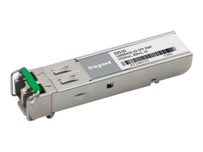 C2G HP J4860C Compatible 1000Base-ZX SMF SFP Transceiver, 39486, 30650750, Network Transceivers