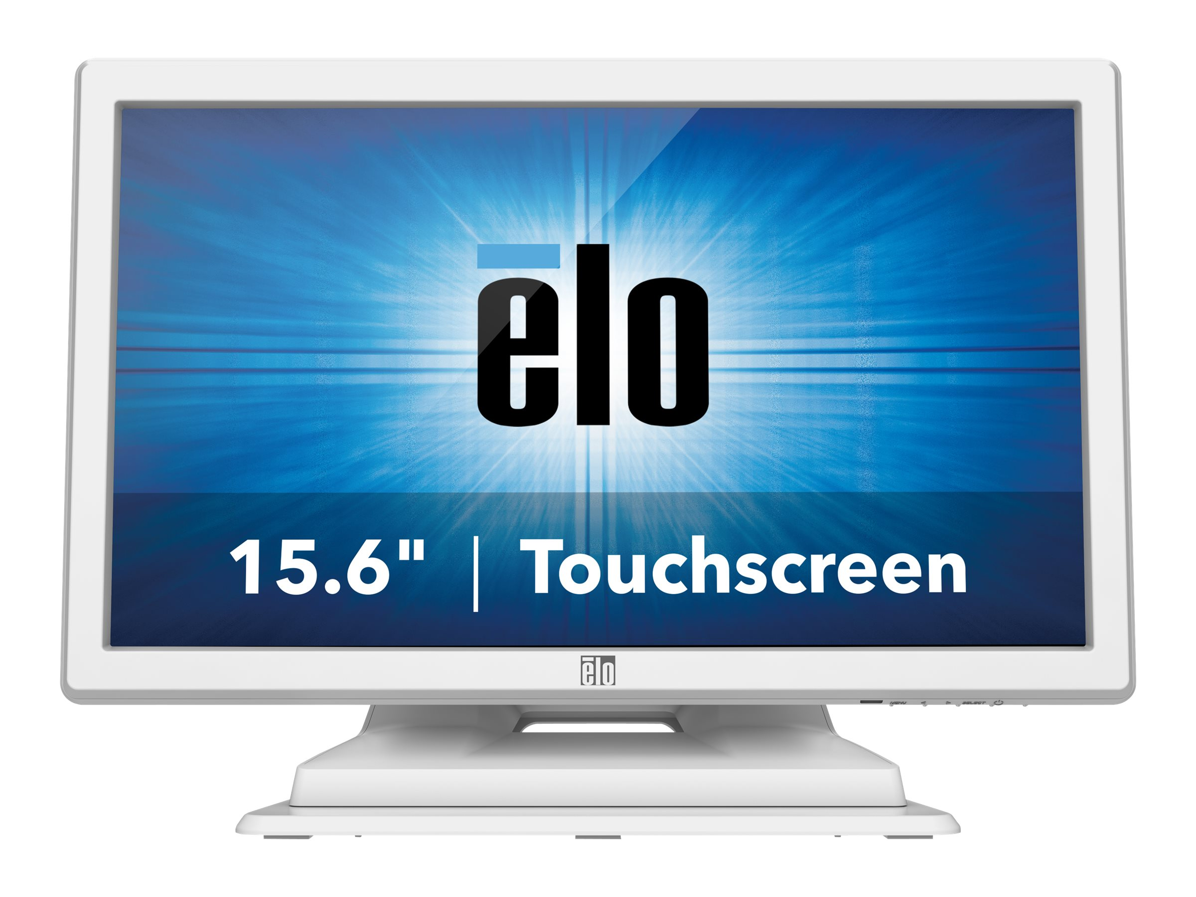 ELO Touch Solutions 1519LM 15.6 LCD IntelliTouch Dual Serial USB, White (NC NR)