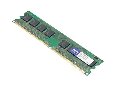 Add On 512MB PC2-4200 240-pin DDR2 SDRAM UDIMM, AA533D2N4/512