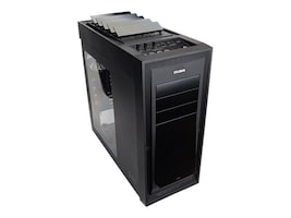 Zalman Chassis, H1 Full Tower with Auto Ventilation ATX 7x3.5 Bays 3x5.25' Bays 9xSlots 4xFans No PSU, H1, 17838601, Cases - Systems/Servers