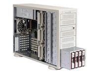 Supermicro Chassis, 4U, Rack or Tower, CSE-942I-600B, 440077, Cases - Systems/Servers