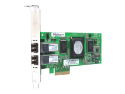 Qlogic Dual Port 4-Gbps Fibre Channel (FC) to PCI Express Host Bus Adapter (HBA), QLE2462-E-SP, 6345587, Host Bus Adapters (HBAs)