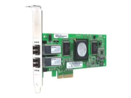 Qlogic 4GB 2.5Hz PCI-Express Dual Controller, QLE2462-CK, 6345552, Network Adapters & NICs