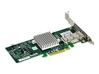 Supermicro 1-port 40GB Infiniband-UIO ONLY, AOC-UIBQ-M1, 10889587, Network Adapters & NICs